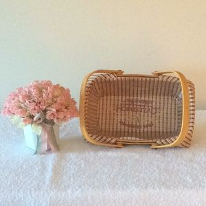 Longaberger Woven Memories 2000 with 2 Liners